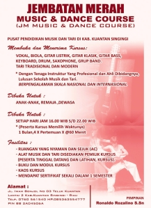 Jembatan Merah Music & Dance Course